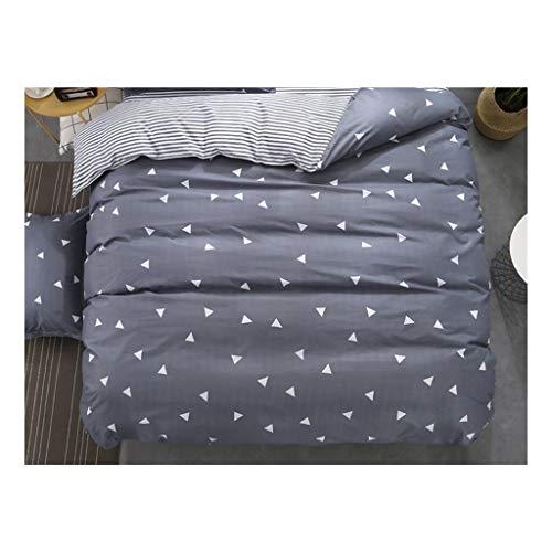 1PCS Bettbezug 220 * 240 Bedding Quilt-Decke Tröster Abdeckung Druck Einzel Doppel Customized 140 * 200cm Nordic (Color : Colour 14, Size : 155x215cm)
