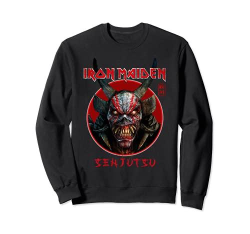 Iron Maiden - Senjutsu Eddie Face Circle Felpa