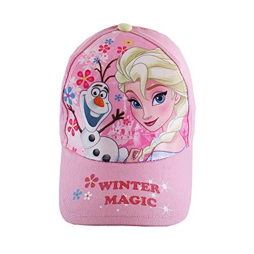 Disney Mädchen Frozen Winter Magic Kappe, Pink (Pink Pnk), X-Small (Herstellergröße: 3-4 Jahre)