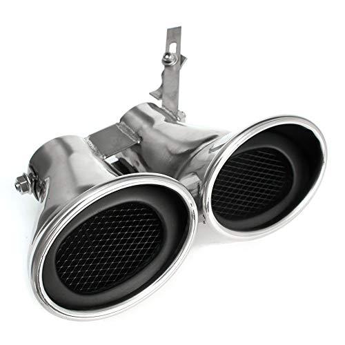 Auto Auto-Hinterer Endstück-Throat, Edelstahl Dual-Auspuff-Rohr, Für Mercedes-Benz -AMG C-Klasse W203 C240 C320