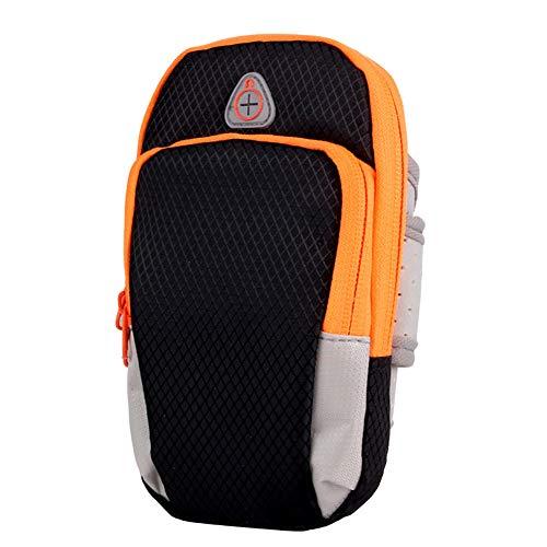 DishyKooker - Funda universal impermeable para teléfono móvil, color negro, tamaño Arm Bag
