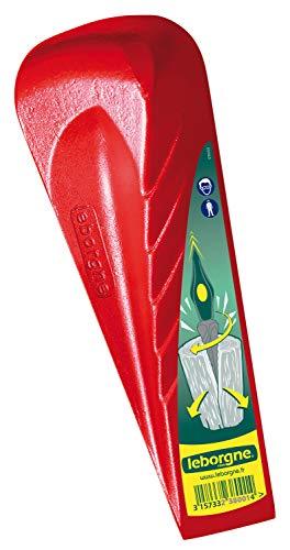 Leborgne 238001 Cuneo rosso - DrehSpaltkeil, Rot, 18 x 7 x 7 cm