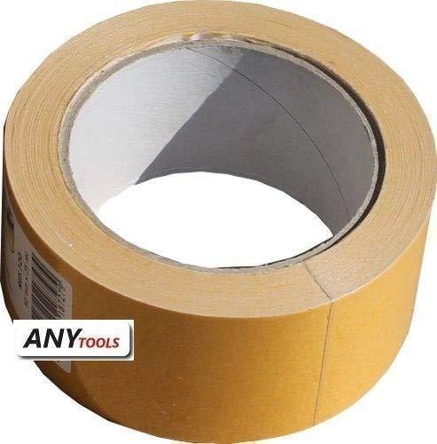 Antalis 4025648730764 zelfklevende tapes, Double-side, Low Noise, polypropyleen, 80μm, 50mm x 25.00m, hotmelt, doos 30 stuks wit