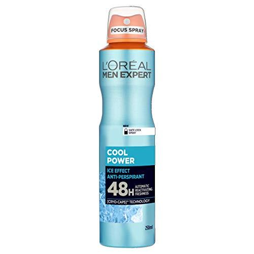 L'Oréal Men Expert Cool Power 48H Anti-Perspirant Ice-Effect Spray Deodorant 250 ml