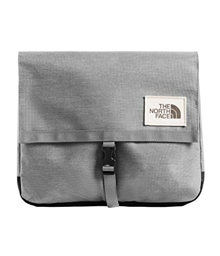 The North Face Berkeley Satchel, Mid Grey Light Heather/TNF Black Heather, OS