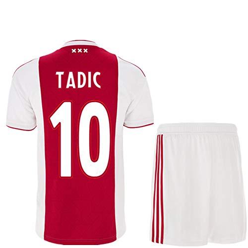 NBN Ajax 19-20 Heimtrikot Champions League Version 10 Tadic 21 Derong Fußballbekleidung Anzug