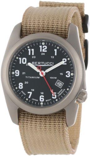 Bertucci Uomo 12202 Solid Titanium Field Orologio