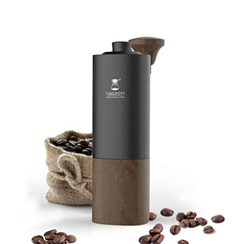 TIMEMORE G1 Manual Coffee Grinder with Adjustable Setting Upgraded titanium core Manual Grinders Professional hand coffee bean grinder portable hand grinder Transported by DHL