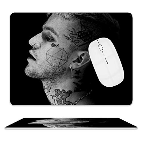 Lil-Peep Leather Mouse Pads are Used for desktops, laptops, Personal Computers, Consoles, etc.