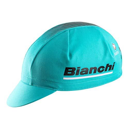 Bianchi - Nuevo Sombrero Race Reparto Corse 2019 Color CK16 / Negro, 100% algodón, código C9551033