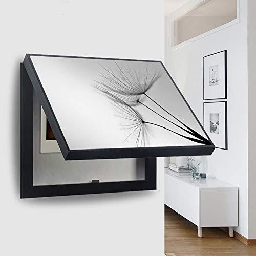 Tapa Cuadro Electrico - Contador De Luz Cubre Cuadros Decorativos Modernos Caja Medidor Eléctrico Pintura Decorativa Vacía Colgante Desmontable Creativa Cubierta Simple ((50*60cm 40*50cm))