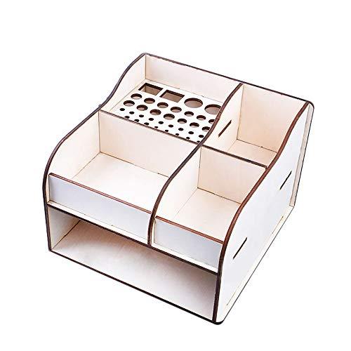 Goolsky DIY ガンダム用 道具収納ケース 木製 アニメ 映画 アクション フィギュア モデル 修理ツール 収納ケース 棚 ラック ホルダー ツール キット ディスプレイ スタンド 様式2