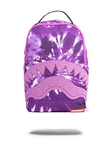 Sprayground Purple Tie Dye Backpack (young Thug Collaboration)