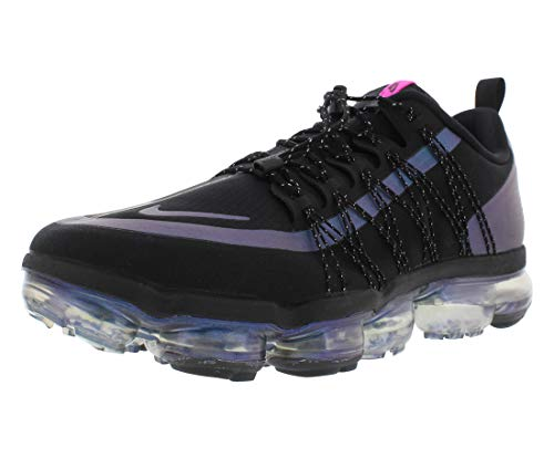 Nike Air Vapormax Run Utility (Black/Laser Fuchsia-Anthracite,10)