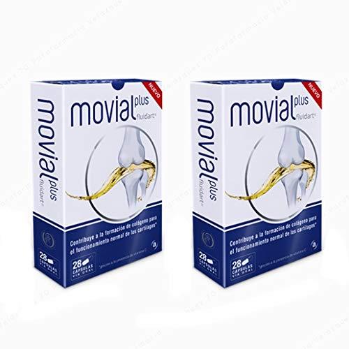 Movial Plus Fluidart, 28capsulas. Pack 2un.