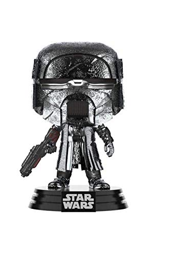 Funko - Pop! Star Wars The Rise of Skywalker - KOR Blaster (Hematite Chrome) Figura Coleccionable,...