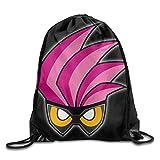 Borse da palestra Zaini Casual, Drawstring Backpack Sack Bag Kamen Rider Ex-Aid Home Travel Sport Storage Hiking Running Bags Fashion