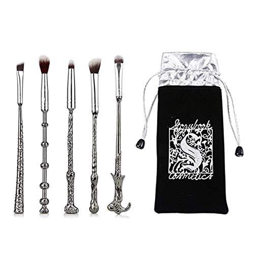 Wizard Wand Brushes,5 PCS Potter Makeup Brush Set for Foundation...