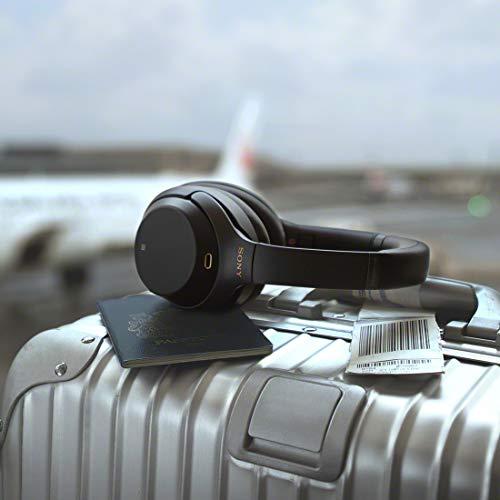 ソニーワイヤレスノイズキャンセリングヘッドホンWH-1000XM3:LDAC/AmazonAlexa搭載/Bluetooth/ハイレゾ最大30時間連続再生密閉型マイク付2018年モデルブラックWH-1000XM3B