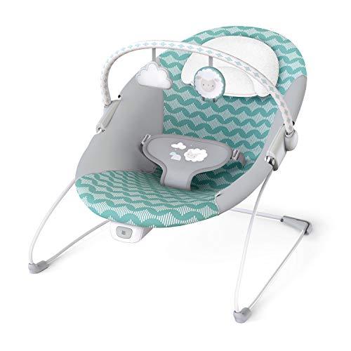 Hamaca para bebé Ity Bouncity Bounce, vibraciones relajantes, arco de actividades con 2 juguetes, 3 puntos de fijación- Goji