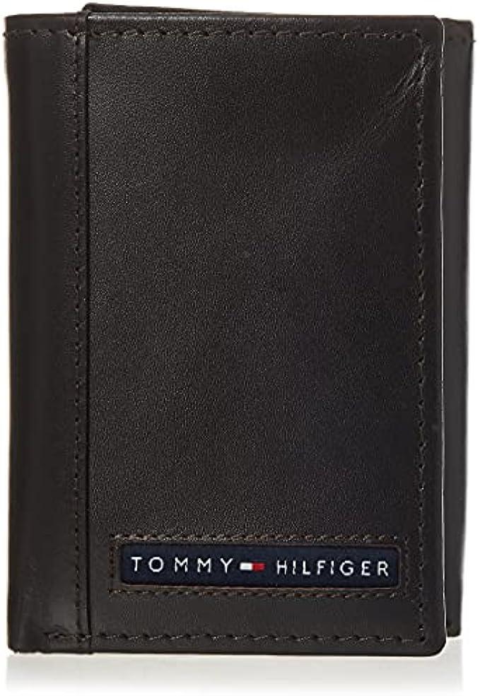 Tommy Hilfiger Men's Leather Trifold Wallet