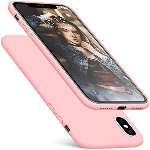 iPhone XS Max Case, Fuleadture [Ondersteunt draadloze oplader] Originele Liquid Silicone Cover Volledige deksel Warmte afvoeren Roosternet dunne zachte telefoonhoes Case Cover voor Apple iPhone XS Max