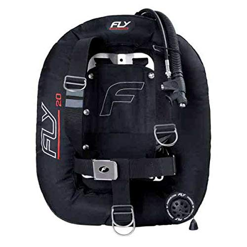 F20DDS07 - Chaleco jacket de buceo bcd tipo ala FLY 20D DIR SET INOX