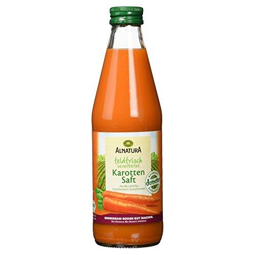 Alnatura Bio Karottensaft feldfrisch (1 x 330 ml)