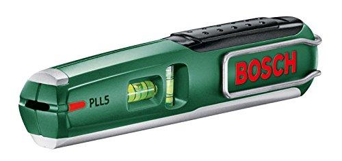 Bosch PLL 5 Laser-Wasserwaage + Wandhalterung (5 m Arbeitsbereich)