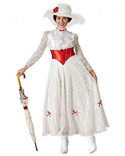 "Rubie's, costume ufficiale da Mary Poppins ""Jolly Holiday"", da donna, musical Disney"