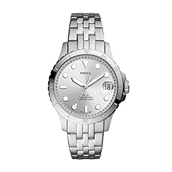 Fossil Women s FB-01 Quartz Stainless Three-Hand Watch Color  Silver  Model  ES4744