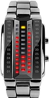 ساعة SKMEI 1035 للرجال مقاومة للماء 3D زجاج - فضي