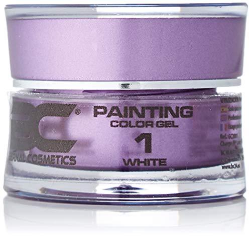 BC Bernal Cosmetics Gel Painting Nº 1 - White - 5ml - 1 Unidad