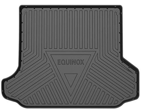 SUPER LINER All Weather Trunk Mats for 2018-2021 Chevrolet Equinox -Custom Fit Car Floor Mats Cargo Liner Rear Cargo Tray Trunk Waterproof Interior Accessories