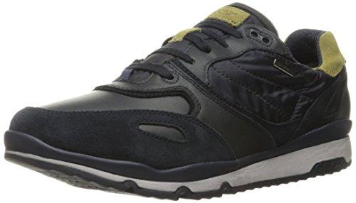 Geox Geox Herren U Sandford B Abx A Sneaker, Blau (Navy/Pistachiocf4E3), 46 EU
