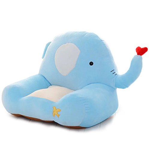 YXCSELL Furniture, Kid's Chair PP Cotton Cartoon Lovely Character Sofa Blue 20x18x18x6 Inches