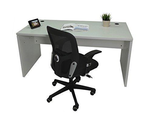 Mesa de Oficina. Euro 2000. Color Gris. 140x80 cm