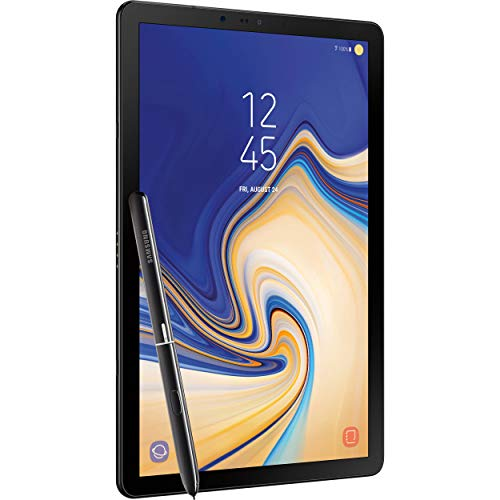 Samsung Galaxy Tab S4 10.5in (S Pen Included) 64GB, Wi-Fi Tablet - Black (Renewed)