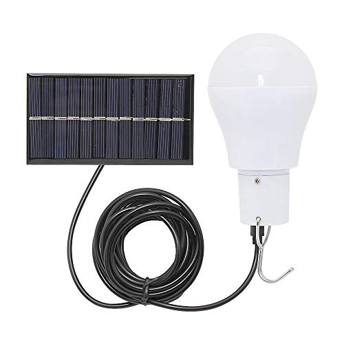 Solar Lights Rechargeable Solar LED Light Bulb Portable Lamp for Indoor Outdoor Garden Shed Tent Camping Hiking Home Emergency Lighting