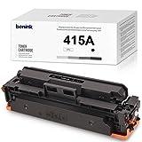 BONINK 415A Tóner (SIN CHIP) negro compatible con HP 415A 415X para HP Color Laserjet Pro M454dn M454dw M454 MFP M479dw M479fdn M479fdw M479 a W2030A W2030X