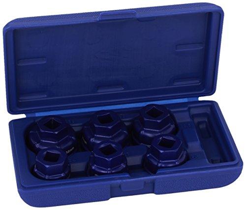 Draper Expert 22491 - Juego de Llaves de Vaso para Filtro de Aceite (1/2