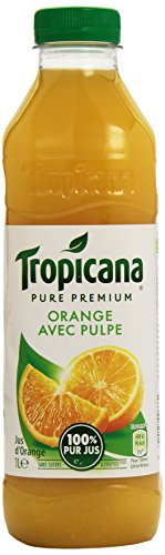Tropicana Tropicana plastikflasche orangen zellstoff- 1 liter saft