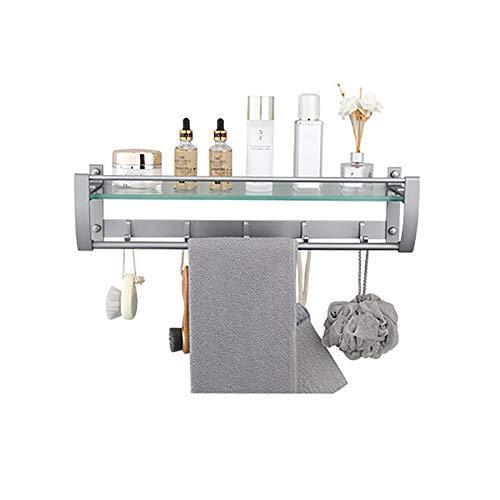 Toallero de Aluminio para Cocina, Soporte para Toallas Montado En La Pared, Soporte para Toallas, para Colgar En Azulejos, para Cocina, Baño
