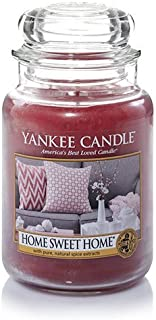 Yankee Candle 22 oz. Home Sweet Home Jar Candle-One Size White Multi