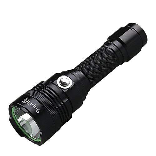 QGL-HQ LED M2-Z 3W 300 LM CREE XPE LED Vie quotidienne étanche Moyen métal Interrupteur lampe de poche LED forte avec une forte/Moyen/Faible/stroboscopique/SOS Modes de randonnée/Conduite Vi