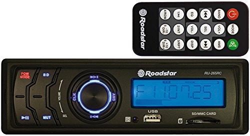 Roadstar RU-265RC autoradio (USB, SD, afstandsbediening, ID3-dag, ISO-norm)