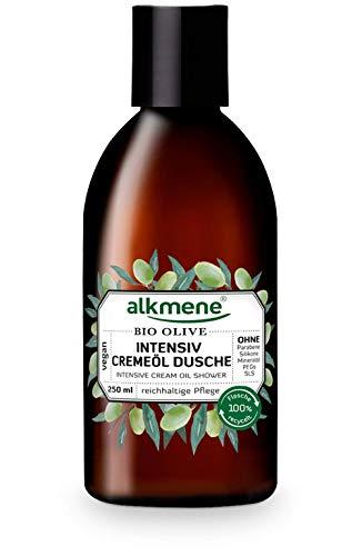 alkmene Intensiv Creme-Öl Dusche mit Bio Olive, Dusch-Öl, Duschgel, für sehr trockene Haut, 250 ml - 1er Pack (1 x 250 ml)