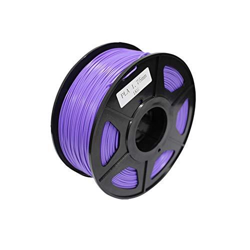 Ndier 3D Pen ABS filamento recargas 3mm 3D impresora de la pluma del filamento para el bricolaje Niños - púrpura, 0,5 kg
