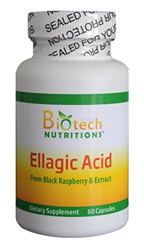 Biotech Nutritions Ellagic Acid Capsules, 60Count by Biotech Nutritions