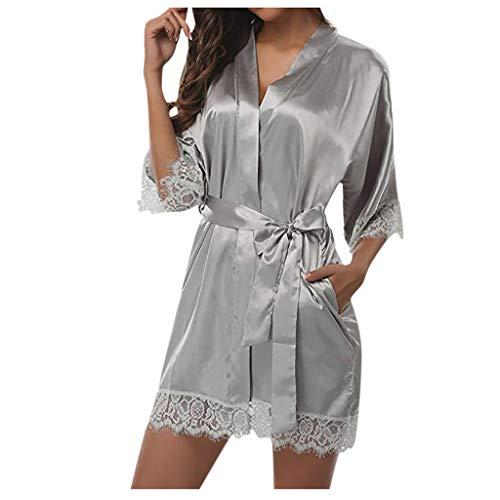 Ropa Interior Mujer Sexy Conjuntos Lencería para Mujer Moda Dama De Las Mujeres De Encaje Sexy Ropa De Dormir Satén Ropa De Dormir Lencería Pijamas Traje Comodos Camisón